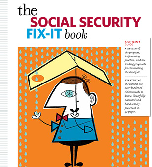 Social Security Fix It Book cover