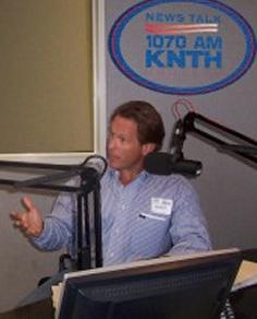 Scott Mann broadcasting radio show