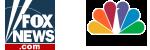 fox news logo and cnbc logo